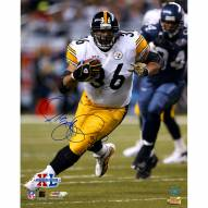 "Pittsburgh Steelers Jerome Bettis Superbowl XL Action Signed 16"" x 20"" Photo"