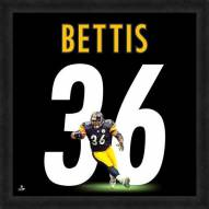 Pittsburgh Steelers Jerome Bettis Uniframe Framed Jersey Photo