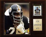 "Pittsburgh Steelers Joe Greene 12 x 15"" Player Plaque"