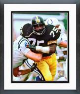 Pittsburgh Steelers Joe Greene Action Framed Photo