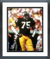 Pittsburgh Steelers Joe Greene Hands On Hips Framed Photo