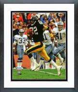 Pittsburgh Steelers John Stallworth Super Bowl XIII Action Framed Photo