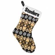 Pittsburgh Steelers Knit Christmas Stocking