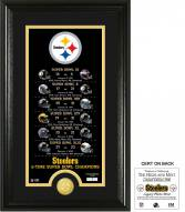 Pittsburgh Steelers Legacy Bronze Coin Photo Mint