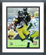 Pittsburgh Steelers Le'Veon Bell 2015 Action Framed Photo