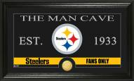 Pittsburgh Steelers Man Cave Bronze Coin Panoramic Photo Mint