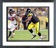 Pittsburgh Steelers Marcus Gilbert 2011 Action Framed Photo