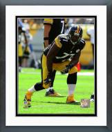 Pittsburgh Steelers Marcus Gilbert 2014 Action Framed Photo