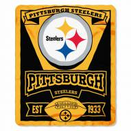 Pittsburgh Steelers Marque Fleece Blanket