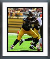 Pittsburgh Steelers Maurkice Pouncey 2014 Action Framed Photo
