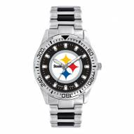 Pittsburgh Steelers Men's Heavy Hitter Watch