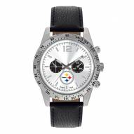 Pittsburgh Steelers Men's Letterman Watch