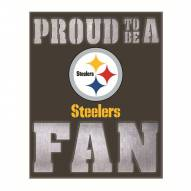 Pittsburgh Steelers Metal LED Wall Sign