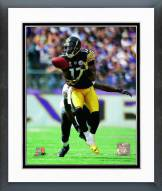 Pittsburgh Steelers Mike Wallace 2011 Action Framed Photo