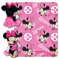 Pittsburgh Steelers Minnie Mouse Throw Blanket
