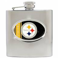 Pittsburgh Steelers NFL 6 Oz. Stainless Steel Hip Flask