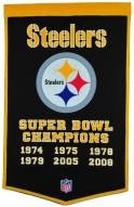 Winning Streak Pittsburgh Steelers NFL Dynasty Banner