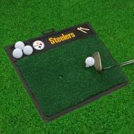 Pittsburgh Steelers NFL Golf Hitting Mat