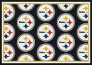 Pittsburgh Steelers NFL Repeat Area Rug