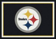 Pittsburgh Steelers NFL Team Spirit Area Rug