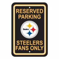 Pittsburgh Steelers Parking Sign - Set of 2