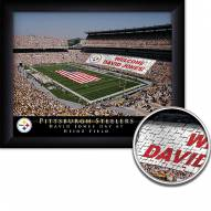 Pittsburgh Steelers Personalized Framed Stadium Print