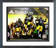 Pittsburgh Steelers Pittsburgh Steelers 2014 Team Introduction Framed Photo