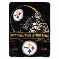 Pittsburgh Steelers Prestige Raschel Blanket