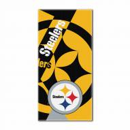 Pittsburgh Steelers Puzzle Beach Towel