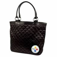 Pittsburgh Steelers Quilted Tote Bag