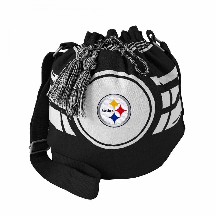 Pittsburgh Steelers Ripple Drawstring Bucket Bag