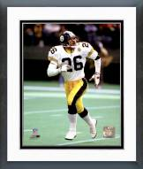 Pittsburgh Steelers Rod Woodson Action Framed Photo