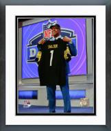 Pittsburgh Steelers Ryan Shazier 2014 NFL Draft #15 Draft Pick Framed Photo