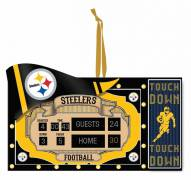 Pittsburgh Steelers Scoreboard Tree Ornament