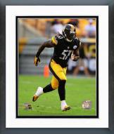 Pittsburgh Steelers Sean Spence 2014 Action Framed Photo
