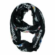 Pittsburgh Steelers Sheer Infinity Scarf