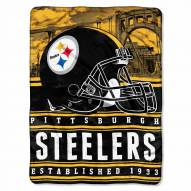 Pittsburgh Steelers Silk Touch Stacked Blanket