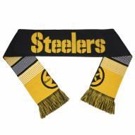 Pittsburgh Steelers Split Logo Reverse Scarf