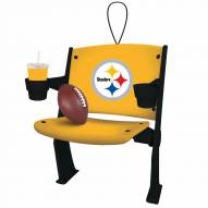 Pittsburgh Steelers Stadium Chair Tree Ornament