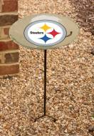 Pittsburgh Steelers Staked Bird Bath