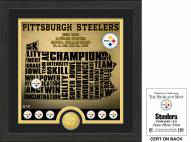 Pittsburgh Steelers State Bronze Coin Photo Mint