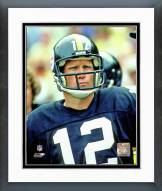 Pittsburgh Steelers Terry Bradshaw 1981 Action Framed Photo