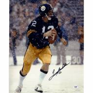 "Pittsburgh Steelers Terry Bradshaw ""Snow"" Signed 16"" x 20"" Photo"