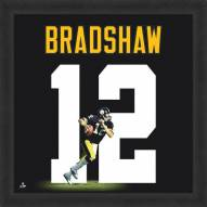 Pittsburgh Steelers Terry Bradshaw Uniframe Framed Jersey Photo