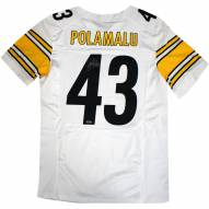 Pittsburgh Steelers Troy Polamalu Signed Nike Authentic White Jersey