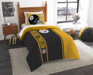Pittsburgh Steelers Twin Comforter & Sham Set