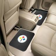 Pittsburgh Steelers Vinyl 2-Piece Rear Floor Mats