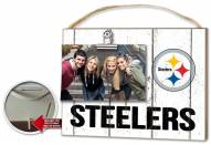 Pittsburgh Steelers Weathered Logo Photo Frame