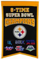 Pittsburgh Steelers Champs Banner