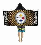 Pittsburgh Steelers Youth Hooded Towel